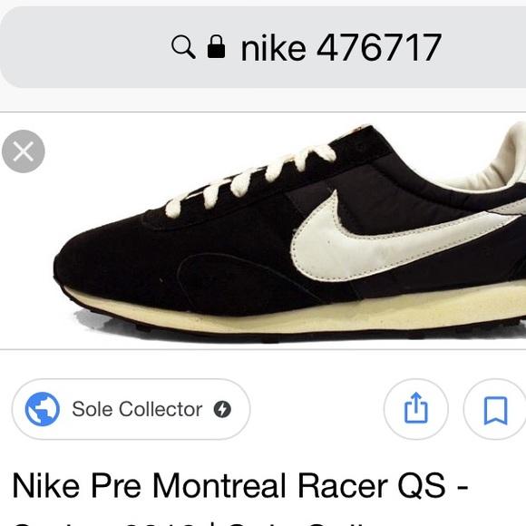 the best attitude d3899 71a34 Nike Pre Montreal Vintage Racer Shoe 2011. M 5a4e892845b30cb68501a78a